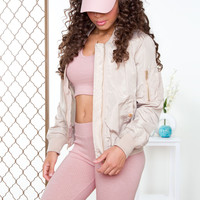 Live Out Loud Jacket - Taupe