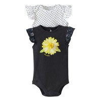 Baby Starters 2-pk. Daisy ''Adorable'' Bodysuits - Baby