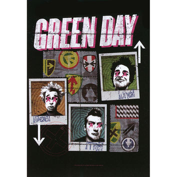 Green Day - Poster Flag