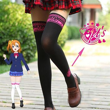 Lolita Girls Love Live Tights Anime Members Kousaka Honoka U'S Pantyhose Stockings 2 Colors