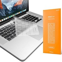 "UPPERCASE Premium Ultra Thin Keyboard Protector for Macbook Pro with Retina Display 13 - 15 Inches, Fits 2012-2015 Retina MacBook Pro 13"" and 15"", US Keyboard Layout (Apple Model number: A1398, A1425, A1502)"