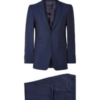 Burberry London - Navy Slim-Fit Wool and Mohair-Blend Suit | MR PORTER