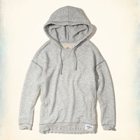 Girls Distressed Oversized Hoodie | Girls New Arrivals | HollisterCo.com