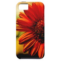 Detail of a Red Flower iPhone 5 Covers