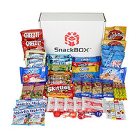 Care Package for College Students, Military, Birthday, Mother's Day, Father's Day or Back to School (50 Count) From Snack Box ...