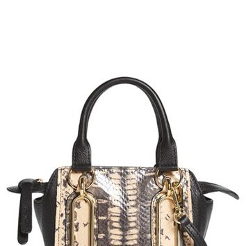 See by Chloé 'Mini Paige' Snake Embossed Leather Crossbody Bag | Nordstrom