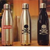 Supreme 280ml Classic Stainless Steel Insulated Cup Coffee Tea Thermos Mug Thermal Bottle Thermocup Car Travel Bottle Best gift