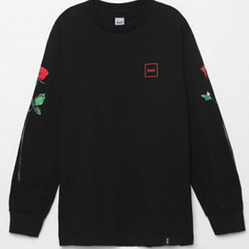HUF Rose Stem Long Sleeve T-Shirt at PacSun.com