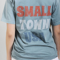 charlie southern: small town usa pocket tee