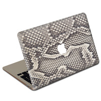 Python MacBook Leather Cover