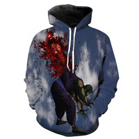Kid Goku Kills King Piccolo Dragon Ball Z Hoodie