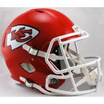 Riddell Full Size Replica Speed Helmet - Kansas City Chiefs