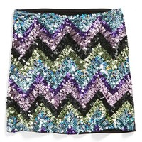 Flowers by Zoe Sequin Skirt (Big Girls) | Nordstrom