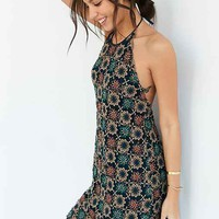 Ecote Edna Beaded Crochet Shift Dress