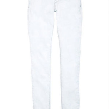 Olivia Low-Rise Jeggings in Cloud Wash