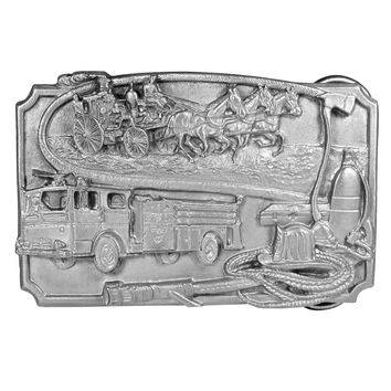 Sports Accessories - Firefighter Antiqued Belt Buckle