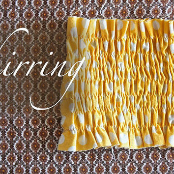 ~Ruffles And Stuff~: Shirring: a Tutorial!