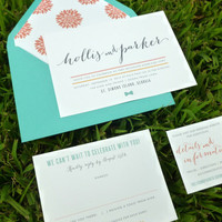 FALL SALE - Icon Wedding Suite - SAMPLE