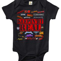 Baby Bodysuit - Keepin' It Real - Heavy Metal