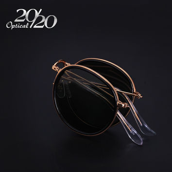 20/20 Brand New Fahsion Men Folded Sunglasses Women Polarized Sunglass UV400 Retro Eyewear Metal Frame Gafas Oculos De Sol 3517