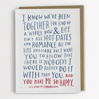 Awkward Love Card