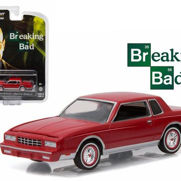 Jesse's 1982 Chevrolet Montelo Breaking Bad TV (2008-2013) 1:64 Diecast