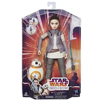 Star Wars Forces of Destiny Rey of Jakku and BB-8 11 in. Fashion Doll