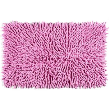Sale!  Cotton Chenille Bath Rugs | Pink