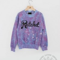 Ratchet Junior Nebula Splat Sweat (KIDS) - Ratchet Clothing