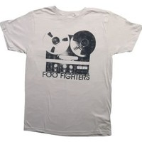 Foo Fighters Reel to Reel T-Shirt - Mens Foo Fighter Shirts