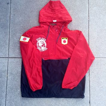World Famous Rain Jacket (Red/Black) Japan