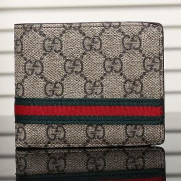 DCCK Gucci Man Leather Purse Wallet6