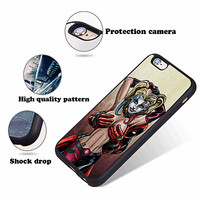 Sexy Harley Quinn X DeadPool Best Case For iPhone 6 6+ 6s 6s+ 7 7+ 8 8+ X Cover