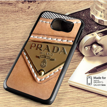 Prada logo bag Samsung Galaxy S4/S5/S6/S6/S6 Edge/S6 Edge Plus/S7/S7 Edge Case Note 3/4/5 Edge Case