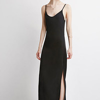 Side-Slit Maxi Dress - Dresses - 2000114737 - Forever 21 UK