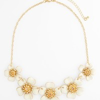 BP. Flower Frontal Necklace (Juniors)