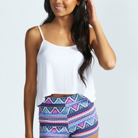 Lyndsay Multi Aztec knicker Shorts