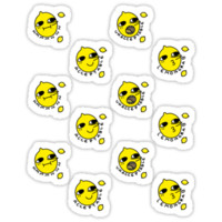 Lemongrabs Stickers