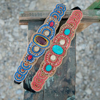 ARIZONA SKY BEADED HEADBAND