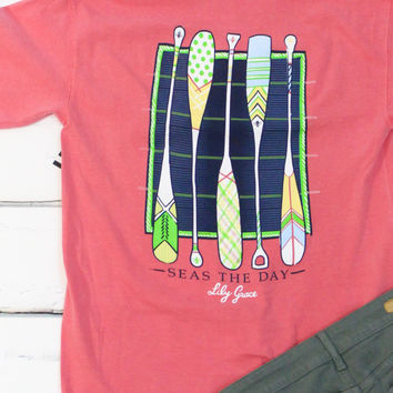 Seas the Day Tee {Watermelon}