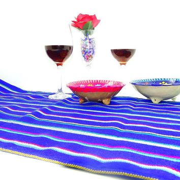 Mexican Table Runner, Fiesta Party Decor, Tela Mexicana, Mexican Table Decorations, Mexican Themed Wedding, Boho fabric.