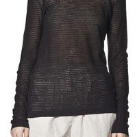 Mesh Sweater Black By Cheap Monday- LAST ONE