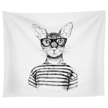 Cool Cat Tapestry