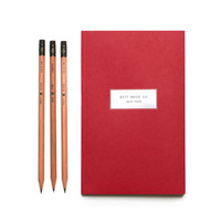 Famous Red Notebook
