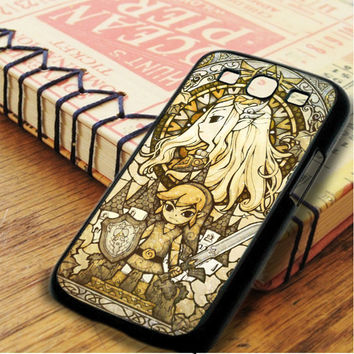 The Legend Of Zelda The Wind Waker Stained Glass Samsung Galaxy S3 Case