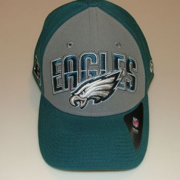 New Era Hat Cap NFL Football Philadelphia Eagles S/M 39thirty 2013 Draft Flex