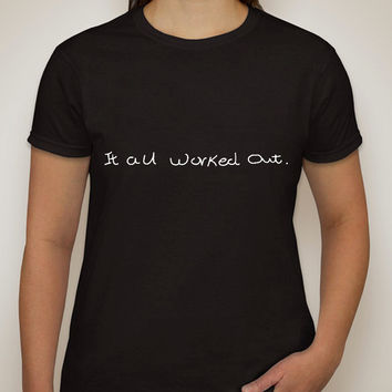 "One Direction ""It All Worked Out / Niall Horan Handwriting"" T-Shirt"