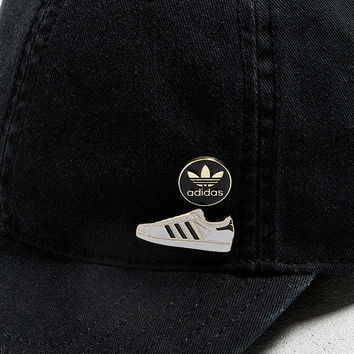 adidas Superstar Pin Pack Strapback Hat | Urban Outfitters