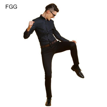 Men Suit Pants Brand Wedding Party Prom Black Groom Bestman Pants Slim Fit Casual Business Formal Trousers Pantalones Hombre