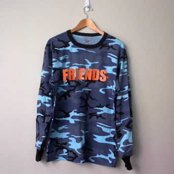 Vlone Long Sleeve Rare Camo